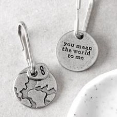 Kutuu  - ' You Mean The World To Me' keyring