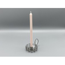 Candle - Dusty Pink Tapered Candle