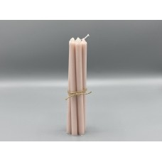 Candle - Dusty Pink Taper Candles bundle of 7