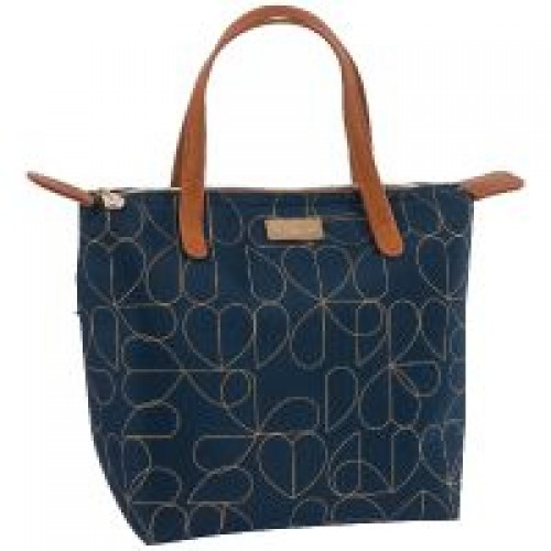 Beau & Elliot Navy 7L Luxury Insulated Lunch Tote bag