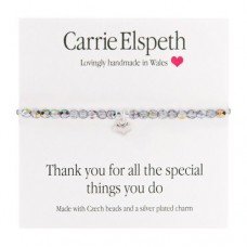 Carrie Elspeth Bracelet Thank you for all the special things you do