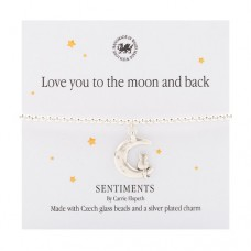 Carrie Elspeth Bracelet Love you to the Moon and back